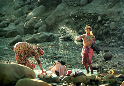 Amzigh Women Washing at the river