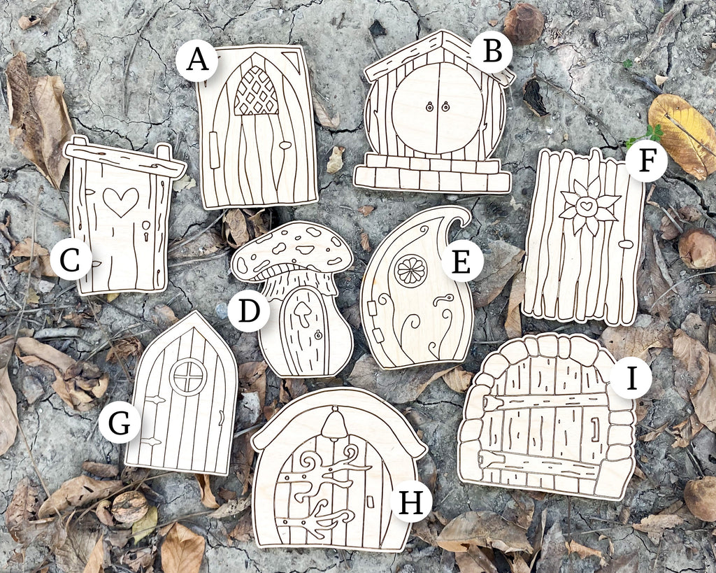 Wood Fairy Doors
