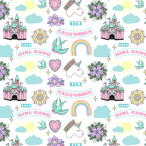 Girl Gang Swaddle Blanket