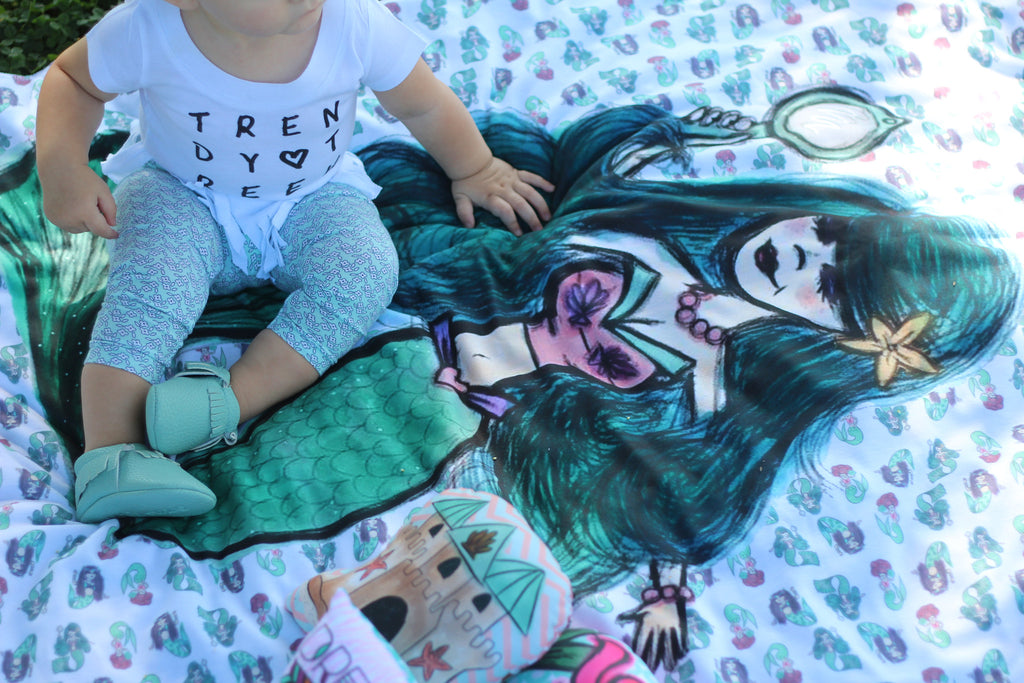 Mermaid Blankets - Trendy Treehouse - 2