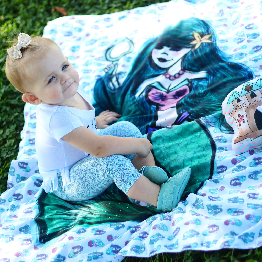 Mermaid Blankets - Trendy Treehouse - 1