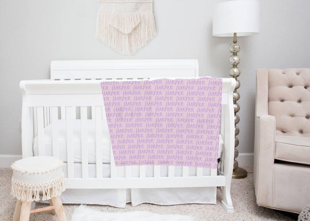 Name Swaddle Blankets for Girls