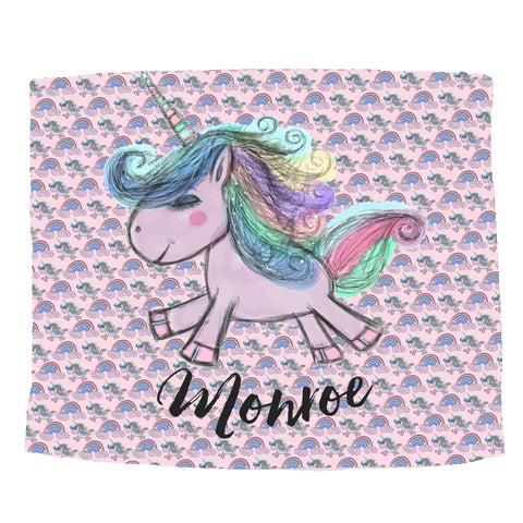 Rainbow Unicorn Blanket - Trendy Treehouse - 2