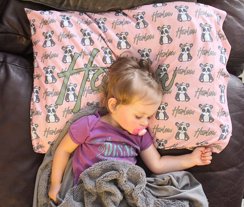 Personalized Pillow Case - Trendy Treehouse - 3