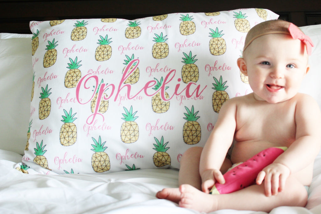 Personalized Pillow Case - for Girls
