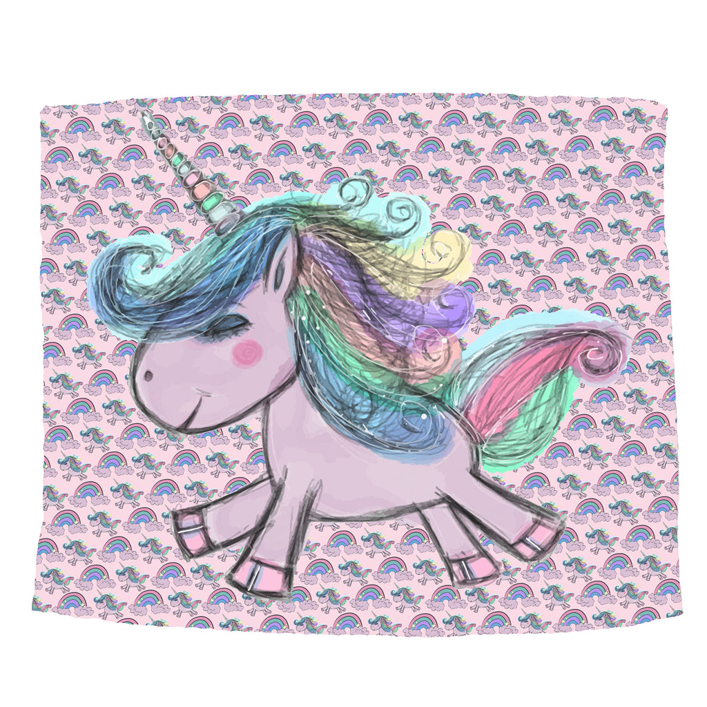 Rainbow Unicorn Blanket - Trendy Treehouse - 1