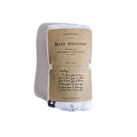 Swaddle Blanket - Letter For You