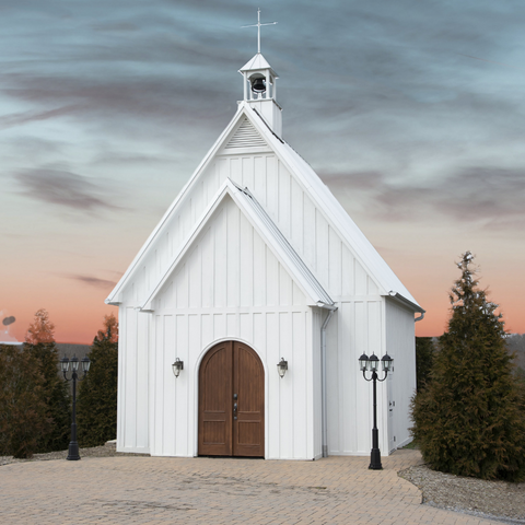Paint By Numbers Kit - Charming Chapel