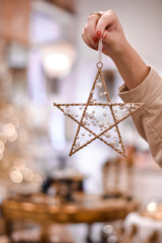 Peaceful Star Ornament