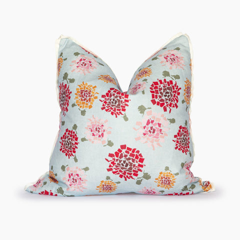 Fifty State Multi Hydrangea Square Pillow