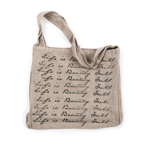 Life is Beauty Full Messenger Bag