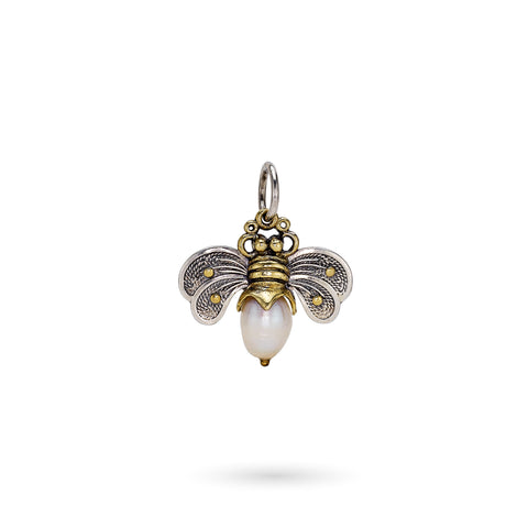 Bee Brave Honeypearl Bee Charm