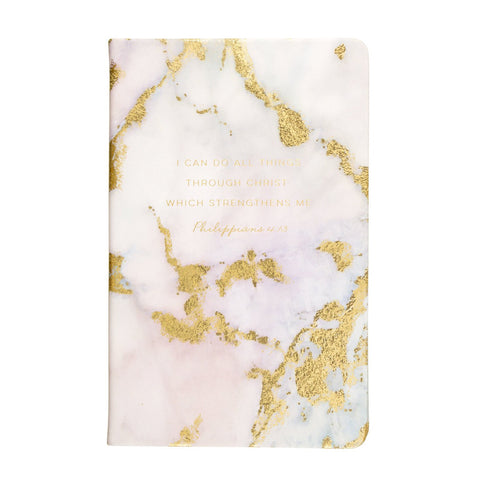 Christian Collection Bible Journal - Gilded Marble