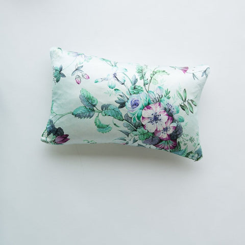Fleur Accent Pillow - Cool