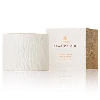 Frasier Fir Gilded Ceramic Petite Candle