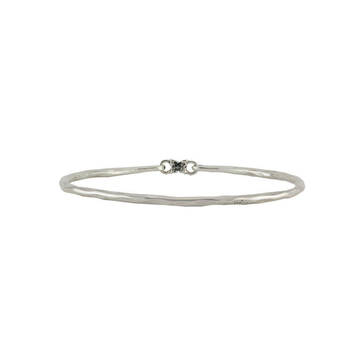 Grace Bangle - Sterling Silver