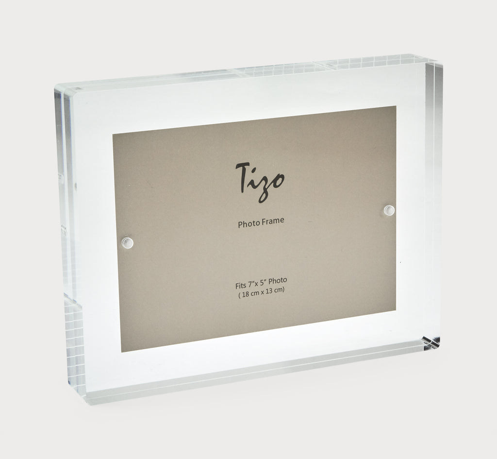 Acrylic Photo Block Frame - Clear