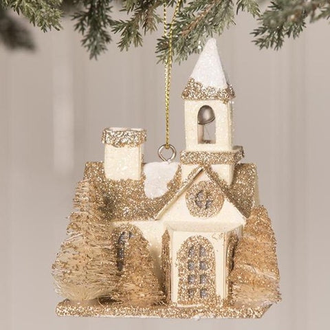 Little Peaceful Church Ornament