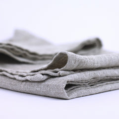 Linen Bath Towel - Stonewashed - Light Natural - Thick Linen