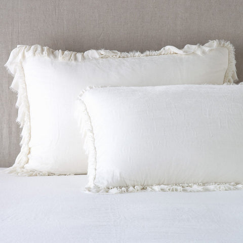 Loulah Royal Sham - Winter White