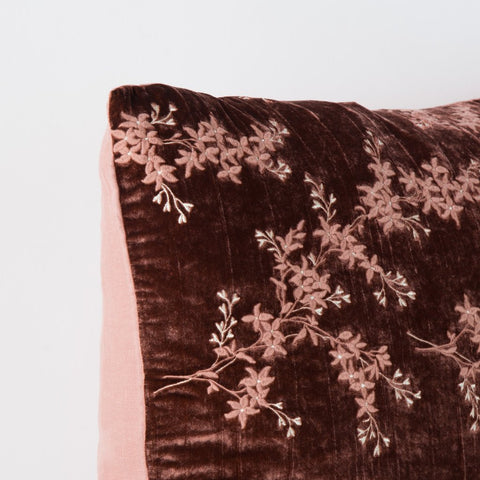 Lynette Accent Pillow - Rosegold