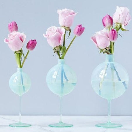 Opal Wine Glass Vase