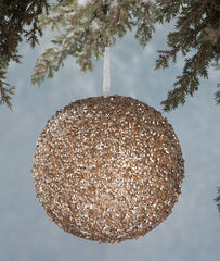 Peaceful Sequin Ornament