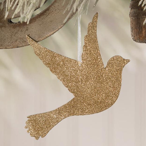 Peace on Earth Dove Ornament
