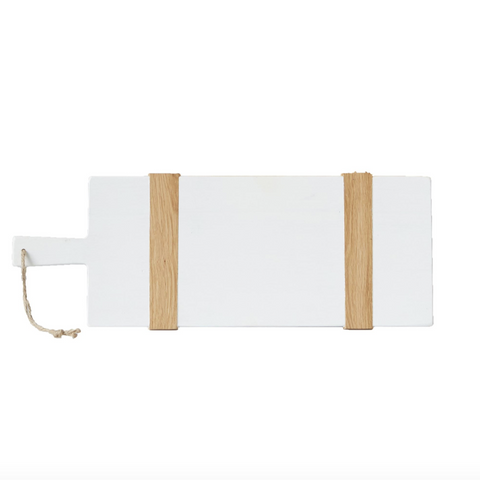 White Rectangle Mod Charcuterie Board - Small