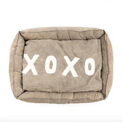 Dog Bed with XOXO Pillow