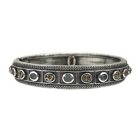 Gunmetal Bela Coin Bangle