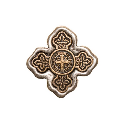 Benedictine Petite Cross Ring
