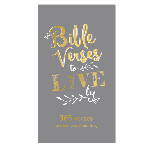 Christian Collection Daily Bible Verse Pad - Gray