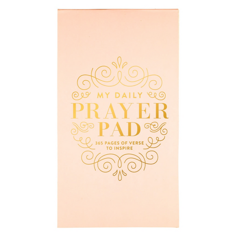 Christian Collection My Daily Prayer Pad - Pink