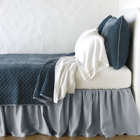 Silk Velvet Quilted Coverlet