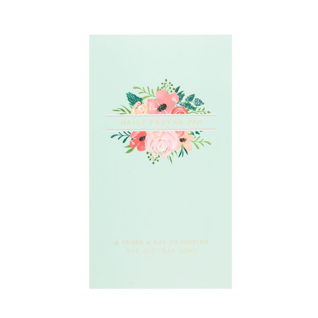 Daily Prayer Pad - Floral Mint
