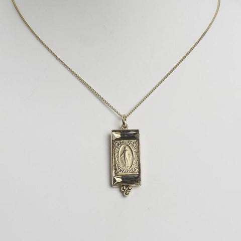 Virgin Necklace in Gold