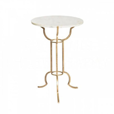 Portrack House Gold Garden Table