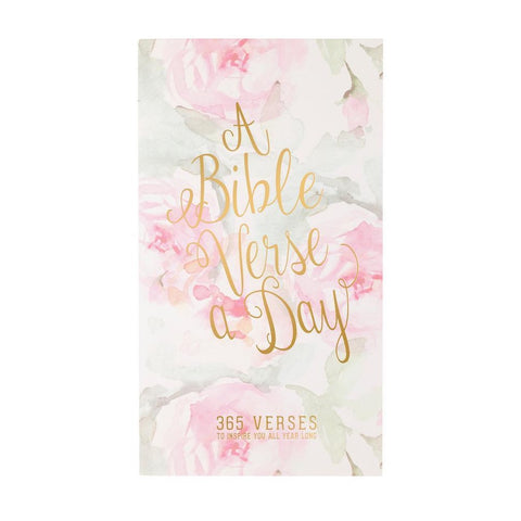 Christian Collection Daily Bible Verse Pad - Floral