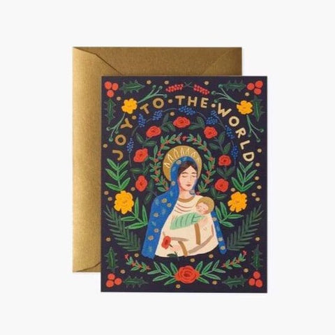 Madonna & Child Christmas Cards - Boxed Set of 8