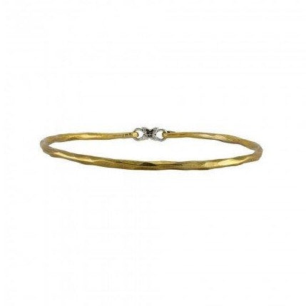 Grace Bangle - Brass