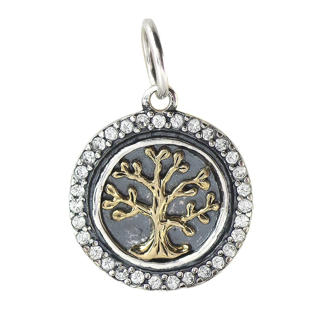 Heart's Content Charm - Tree of Life