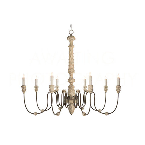 Lena Chandelier - White