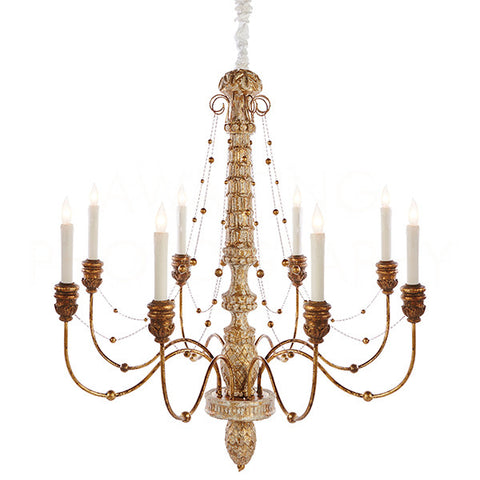 Lena Chandelier Large - Gold
