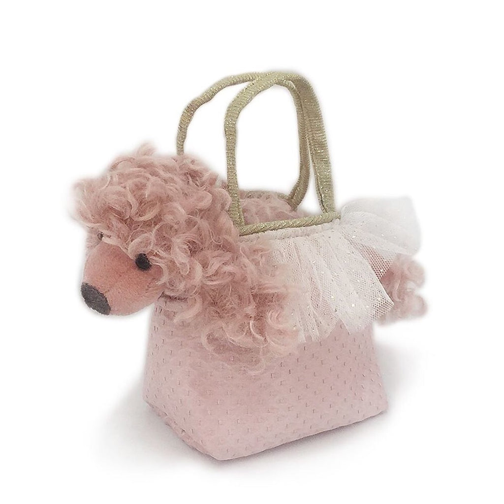 Paris the French Poodle in Purse