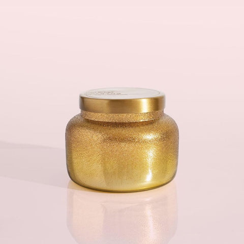 Volcano Gold Glittered Ombre Signature Jar