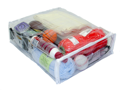 12  x 15  x 4  Heavy Duty Vinyl Zippered (Clear) Storage Bags for Sweaters Blankets Throws Pillows and Quilts (3.1 Gallon)  sc 1 st  The Bargain Mill & 12