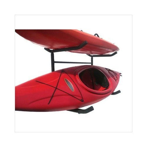 Stoneman Sports KC-103 Freestanding Double Kayak or Canoe Storage Rack