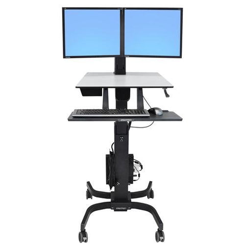 Ergotron WorkFit-C Dual Sit-Stand Workstation (24-214-085)