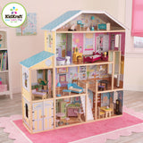"54"" Tall KidKraft Majestic Baby Doll Mansion Dollhouse"